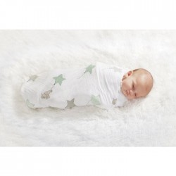 Aden + Anais Classic Muslin Swaddle Wraps 4Pk (Asst Designs) CLEARANCE for $49.90 ONLY!