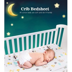Waterproof Crib Fitted Bed Sheet