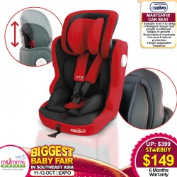 Asalvo MASTER FIX CARSEAT + Free 6 Months Warranty