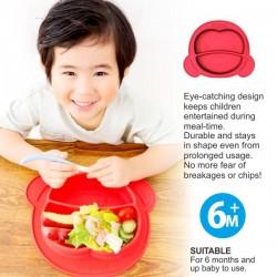 Puku Silicone Suction Plate + Bowl