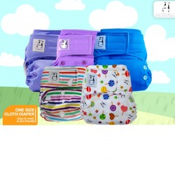 Moo Moo Kow One Size Reusable Cloth Diaper TRADE IN!!