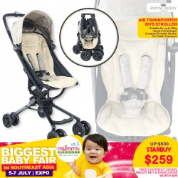 NEW LAUCH!! Royal kiddy London RK Air Transporter Bits Stroller + FREE GIFT WORTH $99!!