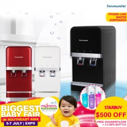 Focuswater FP3300 - W / FP3300 - RBK / FP3300 - CR Water Purifier (FREE GIFT + EARLY BIRD SPECIAL)