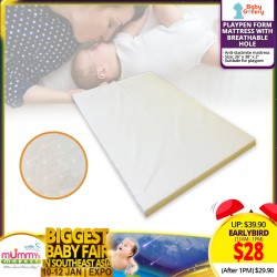 Baby Gallery Playpen form mattress with Breathable Hole (Comes in 2 sizes)