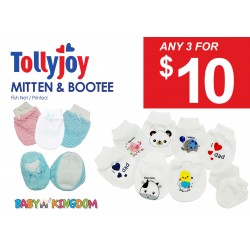 Tollyjoy MITTENS & BOOTEES (3 for $10)