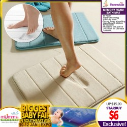Memory Foam Anti-Slip Bath Mat (40 x 60 cm)