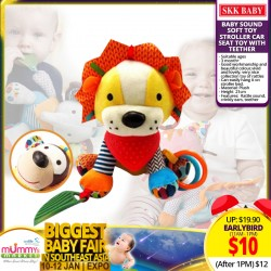 SKK Baby Stroller Soft Toy with Sound