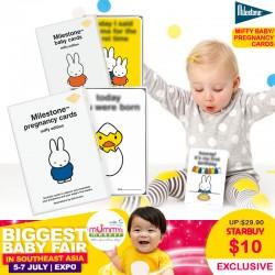 Milestone Miffy Baby / Pregnancy Cards