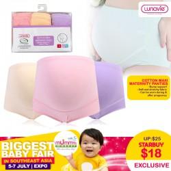 Lunavie Cotton Maxi Maternity Panties
