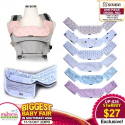 SINBII One Piece Drool Pad