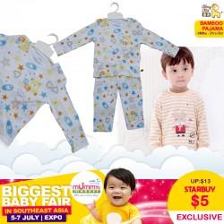 TongTai Bamboo Pajamas Baby Apparel