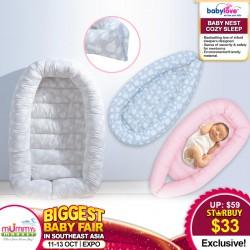 Babylove Baby Nest Cozy Sleep