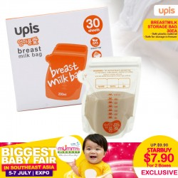UPIS Breastmilk Storage Bags (30ea) Bundle of 2 for $7.90 ONLY!!