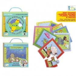 Innovative Kids Soft Shapes - Nursery Rhymes / Planes, Trains & Trucks