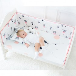 Baby Breathable Mesh Crib Bumper (60x120cm) *EARLY BIRD SPECIAL!!!