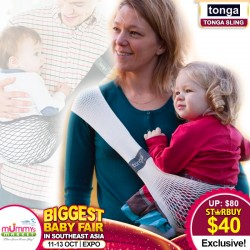 Tonga SUPER LIGHTWEIGHT Mesh Baby Sling Carrier (50 Percent OFF)