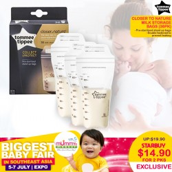 Tommee Tippee Closer to Nature Milk Storage Bags 350ML (36pk) Bundle of 2 For $14.90 ONLY!!
