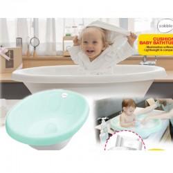 Sobble Cushion Baby Bath Tub + FREE Sparkling Water Baby Wipe(80s) x2 + Wet Wipes(20s) 2x (WORTH $10)