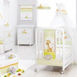 ITALBABY GINA COT+ FREE Babydream Bedding Set + 4