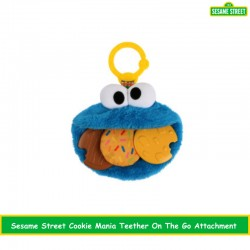 Sesame Street Cookie Mania Teether On The Go Attachment