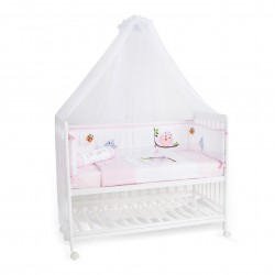 Happy Wonder+ 5-in-1 Baby Cot Co-Sleeper (With Drop Side Mechanism)