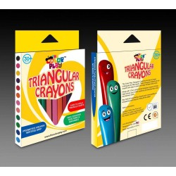 The Color Play Triangular Crayons