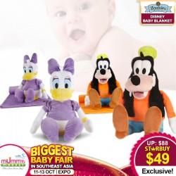 Zoobies Disney Baby Blankets