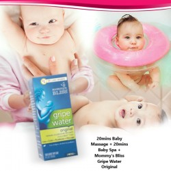 Beauty Mums and Babies BB Classic Bundle (20mins Baby Massage + 20mins Baby Spa + Mommy's Bliss Gripe Water Original)