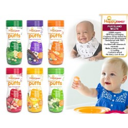 Happy Baby Food - Puffs N Melts (Variety of Flavors!!) Bundle of 4!!