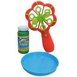 Rainbow Bubbles Flower Bubble Blower (Battery Operated)