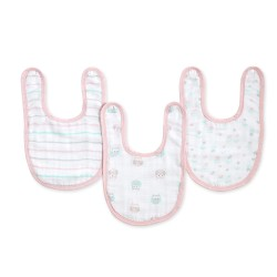 Aden + Anais Ideal Baby Snap Bib 3pk (Asst Designs Available!!)