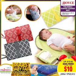 JJovce Portable Diaper Changing Mat