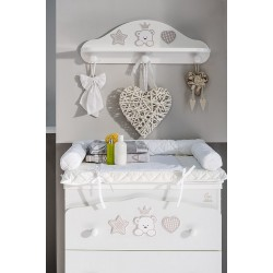 ITALBABY BABY RE BABY BATH WITH 3 DRAWERS (WHITE)