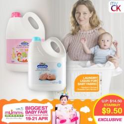 myCK Kodomo Laundry Liquid for Baby Fabric Newborn/Sweetie Care 3000ml