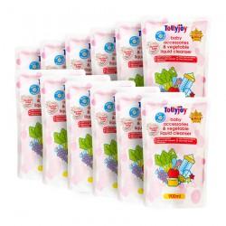 Tollyjoy ANTIBACTERIAL LIQUID CLEANSER REFILL (900ml x 12 Packs) (CARTON DEAL)