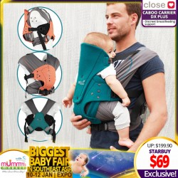 Close Parents Carrier - Caboo DX+ Baby Carrier