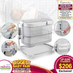 Nursery & Sleep Time Ingenuity Dream and Grow Bedside Bassinet