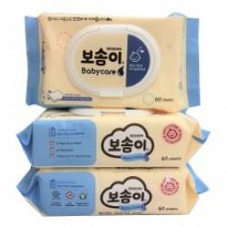 Bosomi Babycare Wet Tissue (Cap/Portable)