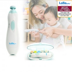 Lollababy Battery Operated Nail Trimmer + Free Mosquito Patch