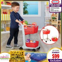 Little Tikes Shop 'n Learn Smart Cart Toy