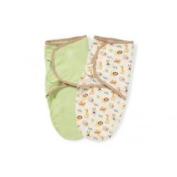 Summer Infant Stage 2 SwaddleMe Original Organic Swaddle 2pk (SML/MED) - ZOO