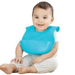 Summer Infant Bibbity Rinse & Roll Bib (3 Colors Available) 2 for $8 ONLY!!