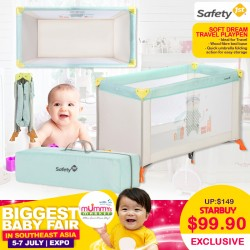 Safety 1st Soft Dream Travel Playpen