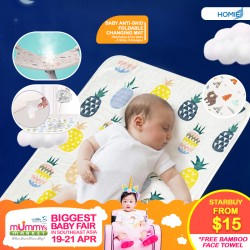 Homie Baby Anti-skid Portable Changing Mat (3 sizes available!)