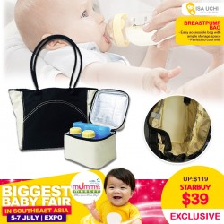 Isa Uchi Breastpump Bag UP TO 70 Percent OFF!! *$29.90 ONLY with SAVE MORE Coupon!!