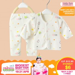 Little Tot's - Baby 2 Piece Set  (100% Cotton) Apparel *ADDITIONAL OFF for EARLY BIRD SPECIAL!!
