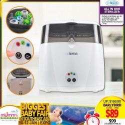 Dr Brown All in One Sterilizer *ADDITIONAL OFF for EARLY BIRD Specials!!