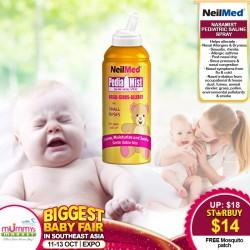 NasaMist® Pediatric Saline Spray
