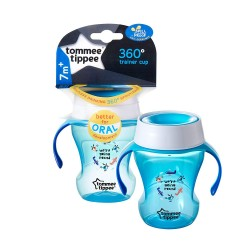 Tommee Tippee 360 Trainer Cup 230ml (Blue / Pink)