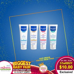 Mustela One Price Deal:  Face Cream for All Skin Types
